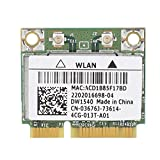 Support 802.11a/b/g/n technology: Network speeds up to 300Mbps. Dual-band wireless WIFI 2.4/5 GHz: Reduce signal interference, smoother network. Universal for Dell Inspiron/Studio Laptop/Studio XPS Laptop/VOSTRO /RECISION /LATTITUDE and Other for DEL...