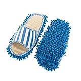 Punto De Cruz Kit 2PC / Set Lazy limpieza de zapatos del pie del limpiador de la fregona del deslizador de microfibra suave usable Quitar el polvo del suelo del baño cubierta Inicio Cleanning Herramie