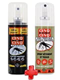 Cinq sur Cinq - Kit Haute protection contre les Moustiques Spray Tropic 75 ml + Spray Vètement 100 ml