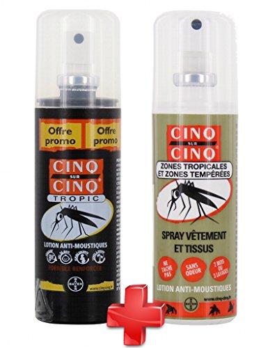 Cinq sur Cinq - Kit Haute protection contre les Moustiques S