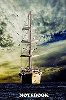 """Notebook: Warrior Of The Sea , Journal for Writing, College Ruled Size 6"""" x 9"""", 110 Pages"""