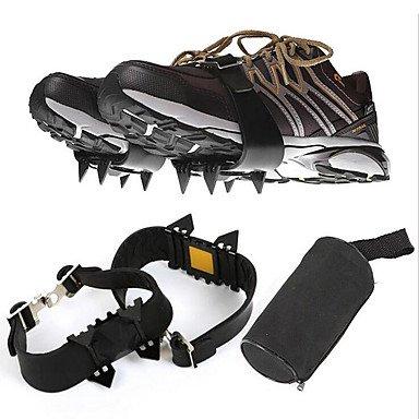 XHL Art Crampons extérieur/Quatre Dents chaîne Anti- Chaussures antidérapantes Couverture/Montagne/Crampons Simples