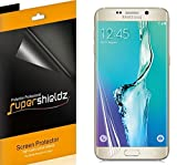 (2 Pack) Supershieldz Clear Screen Protector for Samsung Galaxy (S6 Edge Plus) (Full Screen Coverage)