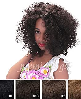 Wigs The Way Convenient and Comfortable Short 4 – 6 Inch Curly Brazilian Curly Human Hair Unprocessed Hair Machine Made Wigs Lace None