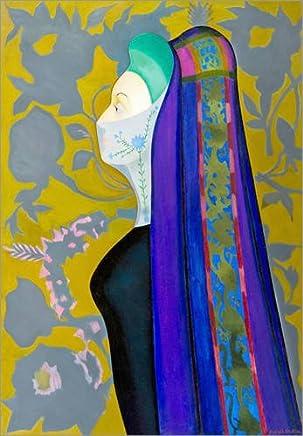Posterlounge Stampa su Vetro Acrilico 30 x 40 cm: Veiled Lady l di Joseph Stella