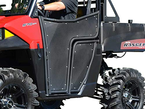 SuperATV Aluminum Doors for Polaris Ranger Midsize 500 (2017+) - Pair of Front Doors