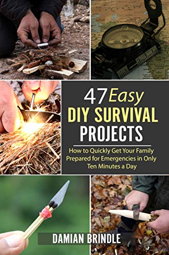 47 Easy DIY Survival Projects: How to Quickly Get Your Family Prepared for Emergencies in Only Ten Minutes a Day by [Damian Brindle]