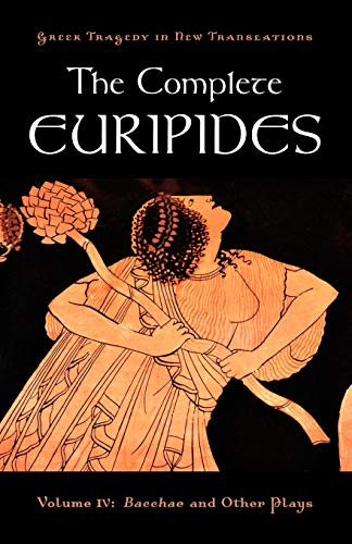 Compare Textbook Prices for The Complete Euripides: Volume IV: Bacchae and Other Plays Greek Tragedy in New Translations 1 Edition ISBN 9780195373400 by Euripides,Burian, Peter,Shapiro, Alan