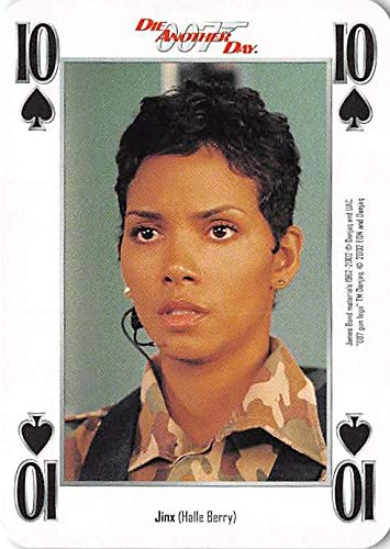 Jinx is Halle Berry trading card gaming 007 James Bond Die Another Day #10S Face