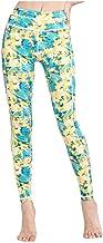 GROSSARTIG Women's Sweat Pants Print Yoga Pants Quick-dry Hip Fitness Cropped Pants (Color : 02, Size : XL)
