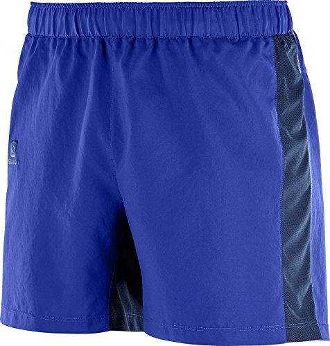 SALOMON Agile 5'' Pantalones Cortos, Hombre, Azul (Surf The Web), XL