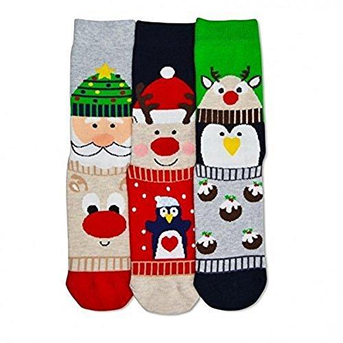 Calcetines para mujeres con motivos de Navidad