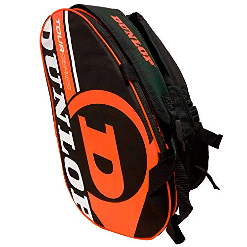 Dunlop Paletero de pádel Tour Intro Negro/Naranja Flúor