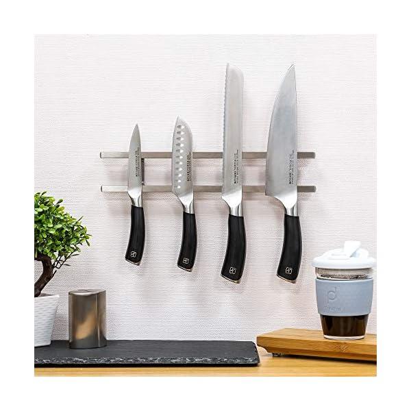 Rockingham Forge MK-300SS - Soporte magnético para cuchillos