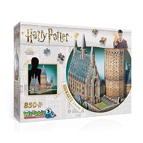 3D El Gran Salón de Hogwarts Puzzle 3D, Multicolor (W3D 2014)