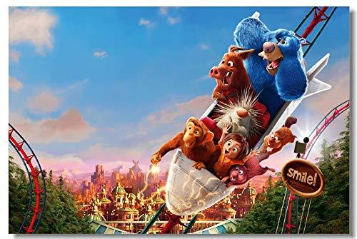 Puzzle 1000 piezas Pintura de decoración de película de animación de parque de fantasía puzzle 1000 piezas clementoni Juego de habilidad para toda la familia, colorido juego d50x75cm(20x30inch)