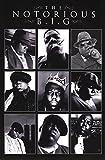 Notorious BIG - Collage Poster Drucken (60,96 x 91,44 cm)