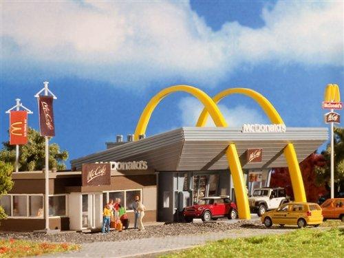3635 - Vollmer H0 - McDonald's Restaurant mit McCafé