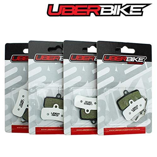 Uberbike Shimano MT-520 N03A N04C H01A H03C 4 pistones Race-Matrix - 4 pares