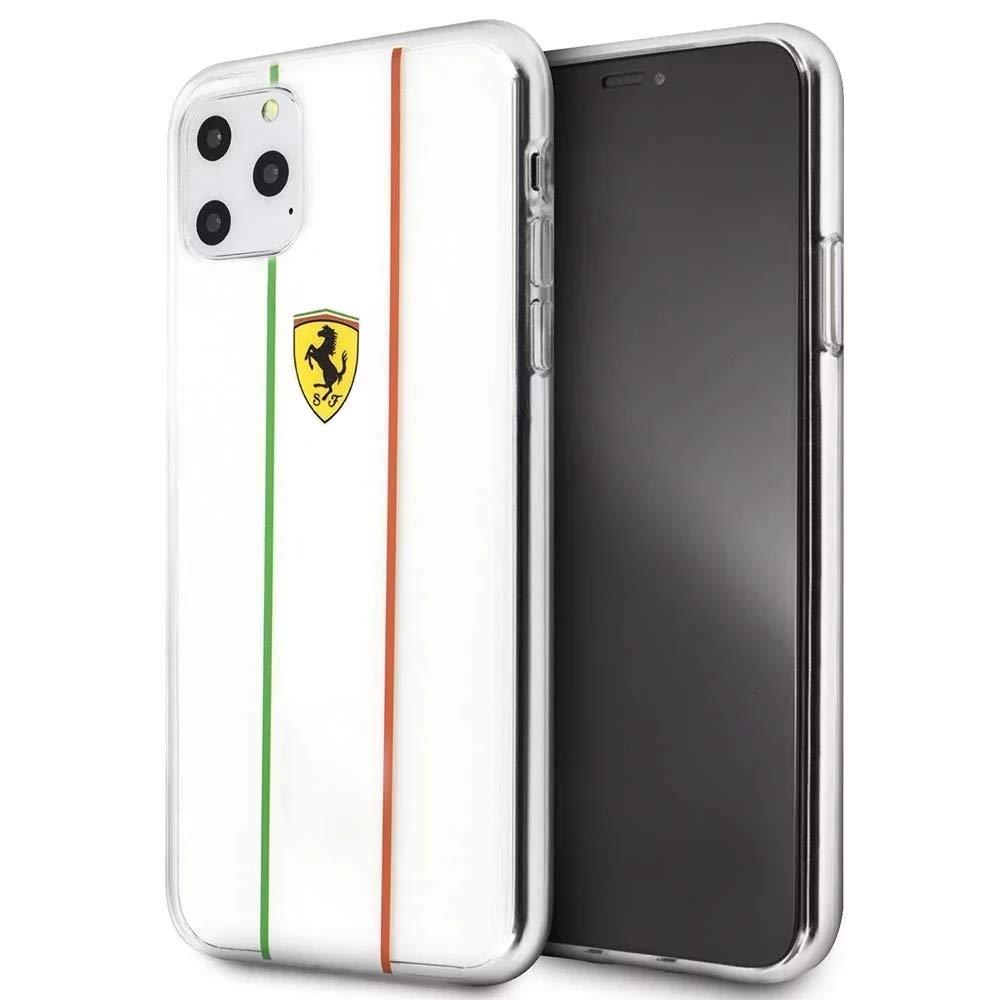 Ferrari Iphone 11 Pro Max Transparent Hard Case Amazon In Electronics