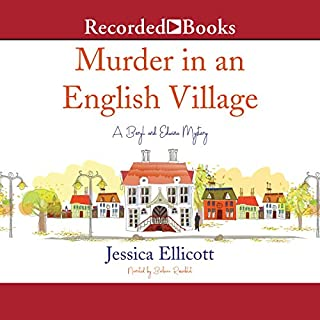 Murder in an English Village audiobook cover art