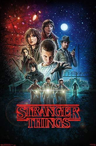 """Trends International Netflix Stranger Things - One Sheet Wall Poster, 22.375"""" x 34"""", Unframed Version"""