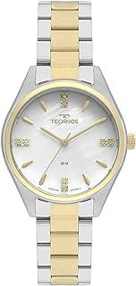 Relógio Technos, Pulseira de Aço Inoxidável, Feminino Dourado 2036MKS/5B