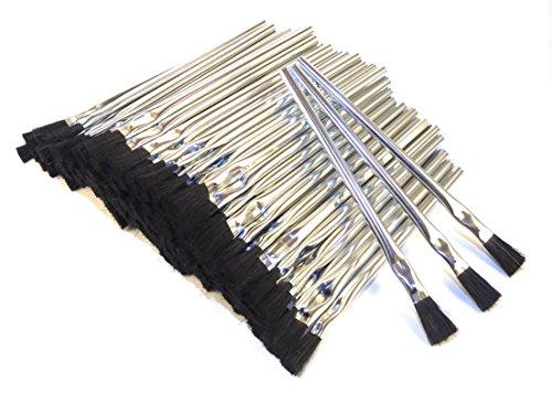 Acid Brush, Horse Hair, 1/2 in. 6 in. OAL, One Gross (144 brushes)