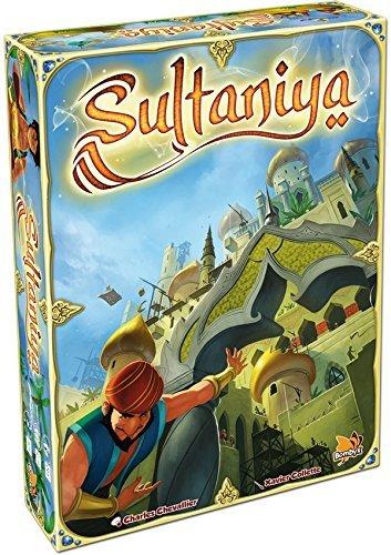 Asmodee - SUL01 - Jeu d'ambiance - Sultaniya