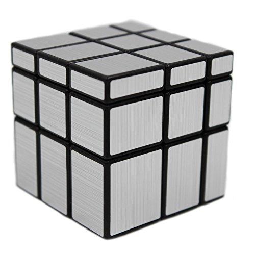MEISHINE 3x3x3 Zauberwürfel Magic Cube Silver Mirror Cube Speed Cube