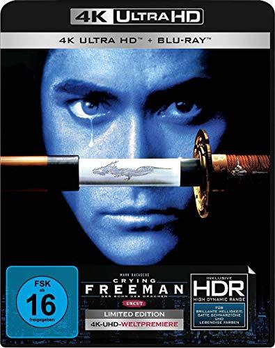 Produktbild von Crying Freeman (Uncut) (4K Ultra HD) (+ Blu-ray 2D)