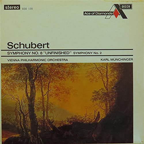 Symphony No. 8 'Unfinished' / Symphony No .2 - Franz Schubert LP