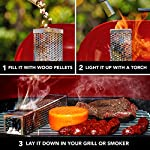 Carpathen Premium Pellet Smoker Tube 12 Inch - Transform Your Regular Grill into a Real Smoker - Best Accessory for any… 7
