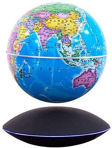 Globo Flotante magnético Transmisión inalámbrica Control táctil 6 'Mapa del Mundo Bola Flotante Decoración de Oficina Regalos de cumpleaños Decoración del hogar, B