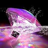 Esoes LED Unterwasser Licht Badewannenlicht Teich Pool...