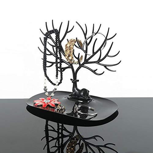 Astas creativas Estantes de joyería Accesorios Estante Adornos Estante Exhibición Estilo europeo Soporte de almacenamiento Rama de árbol