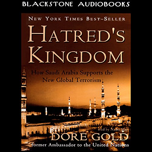 Hatred's Kingdom audiobook cover art