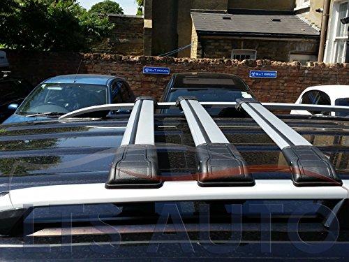 Mercedes Vito Viano W639con cerradura Cruz Bar barra de techo accesorio de 90kg capacidad x3