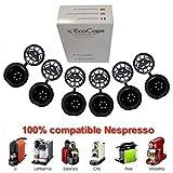 coffee2u rechargeable réutilisable pour dosettes capsules de café pour...