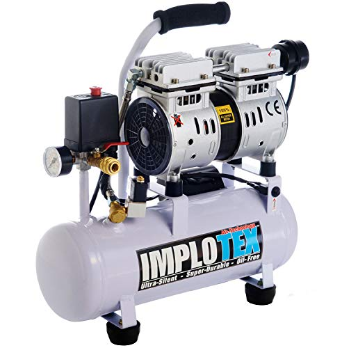 IMPLOTEX Silent Airbrush Druckluftkompressor