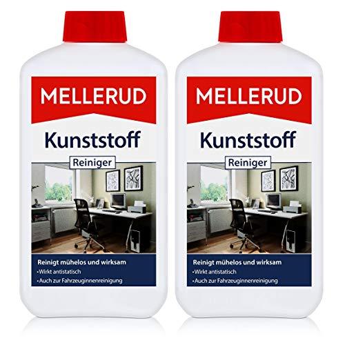 2x MELLERUD Kunststoffreiniger 0,5L Set Kunststoff Reiniger Fenster