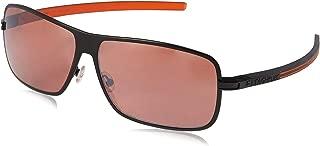 TAG HEUER Unisex-Adult 66 0988 204 631203 66 0988 204 631203 Polarized Square Sunglasses, Black, 63 mm