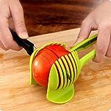 Cortador tomate Gadgets cocina Color aleatorio mano Durable Práctico ABS Herramientas Fruta limón