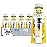 BODYARMOR LYTE Sports Drink Low-Calorie Sports Beverage, Tropical Coconut, Natural Flavors With Vitamins, Potassium-Packed Electrolytes, No Preservatives, Perfect For Athletes, 16 Fl Oz (Pack of 12)