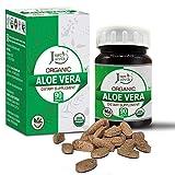 Just Jaivik Organic Aloe vera Tablets - A Dietary Supplement - 750 mg