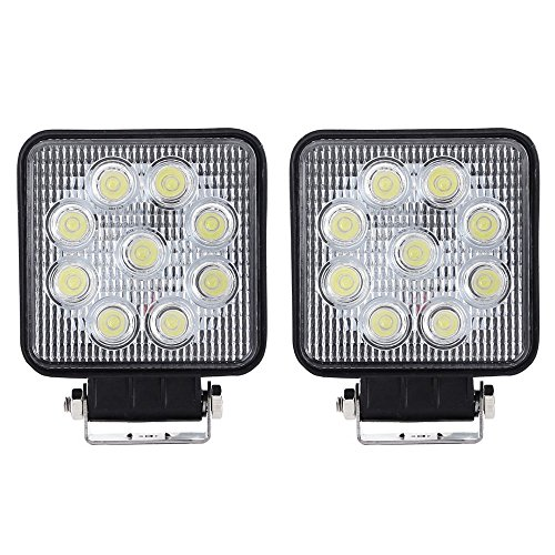Les Light Bar LED Work Light For Car, 2x 27w