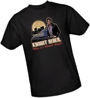 Make It A Michael Knight. - Knight Rider Adult T-Shirt