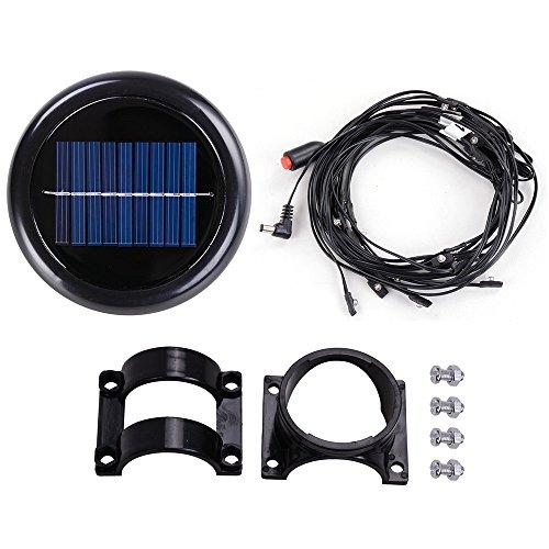 Yescom 40 LED Solar String Light Warm White Fit