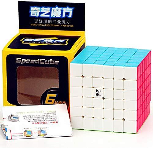 LiangCuber Qiyi 6x6 Speed Cube Stickerless Qiyi QiFan S Magic Cube 6x6x6 Puzzle Cubes Toy product image