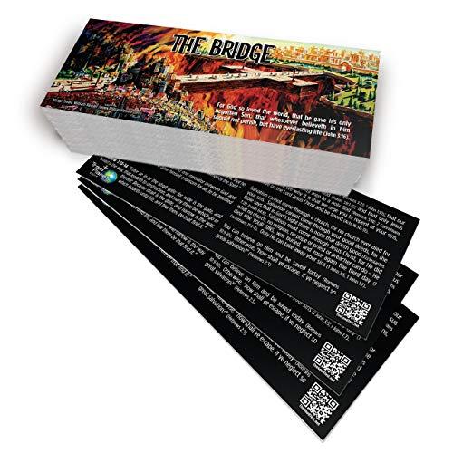 The Bridge Gospel Tract (Pack of 100, KJV)